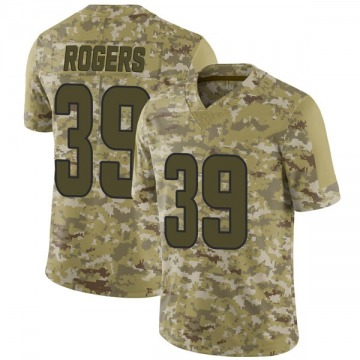 Youth Sam Rogers Los Angeles Rams Limited Camo 2018 Salute to Service Jersey